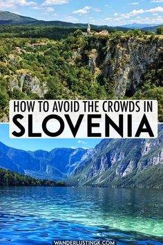 The best places to visit in Slovenia: Insider tips for avoiding the crowds Looking to avoid the crowds in Slovenia? Insider tips from a local on the best places to visit in Slovenia with alternative to the main tourist attractions in Slovenia… Visit Slovenia, Slovenia Travel, Travel Europe Cheap, European Travel, Europe Packing, Traveling Europe, Backpacking Europe, Packing Lists, Travel Packing