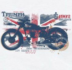 Triumph Motorcycles by 4th Avenue Graphics , via Behance