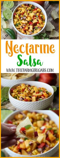 Rev up your taste buds with this zippy Sweet & Sassy Nectarine Salsa! This sweet and savory salsa is the perfect summer appetizer or snack recipe.
