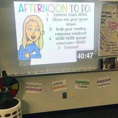 If my hilarious doesn't motivate you to get your work done then I don't know what will 🤷🏼♀️😂 4th Grade Classroom, Primary Classroom, Classroom Design, Future Classroom, Classroom Organization, Classroom Management, Classroom Ideas, Behaviour Management, Google Classroom