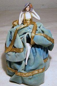 Box art nouveau, art deco, porcelain elegant woman