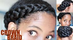 This is an effortless protective style. I used Crème of Nature products which are my favorite products that keep my hair moist, defined and healthy! Don't ...