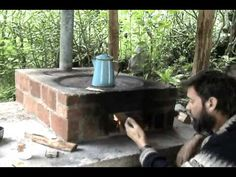 How a Lorena stove works    This might be a great patio stove to build on my future farm.
