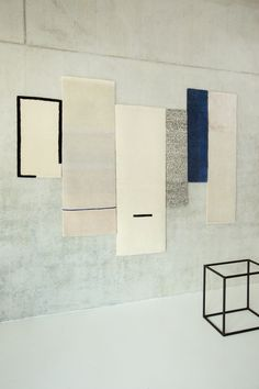 HUES is a serie of 6 different hand knotted wall pieces produced in Nepal…