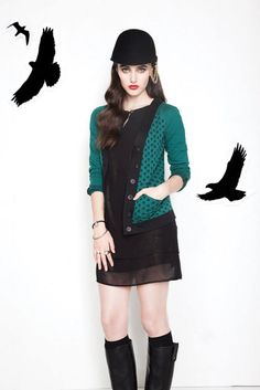 Cardigan Solstice Annie50 Punk, Sweaters, Annie, Dresses, Style, Fashion, Vestidos, Swag, Moda