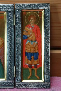 Александр Деркачёв – Alexandru Derkaciiov – icoana Byzantine Icons, Byzantine Art, Fresco, Saints, Album, Mai, Blog, Painting, Photos