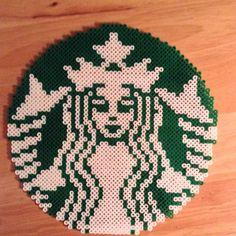 Starbucks perler beads by jennabenna_20