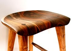 Handcarved stools in walnut,cherry,maple,ash… Table, counter and bar heights. more info: contact@ffhandcrafts.com