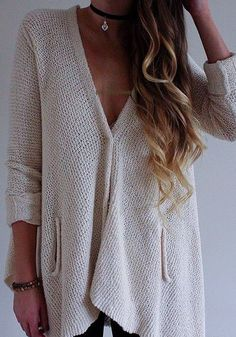 Clothes ¤ outfits ¤ summer ¤ winter ¤ fall ¤ spring ¤ women ¤ chilled ¤ party ¤ teens ♡ Catarina Alves Fall Winter Outfits, Summer Winter, Autumn Winter Fashion, Spring, Chambray, Winter Cardigan, Sweater Weather, Style Pic, Hair Style