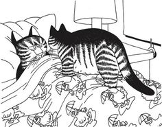 Cats! | Adult Coloring ♥ | Kliban CatColor Coloring Book