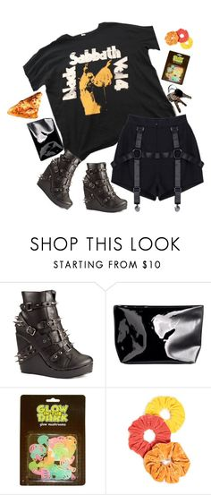 """rock concert enthusiast"" by vampirliebling ❤ liked on Polyvore featuring Abbey Dawn, H&M, WALL and Namrata Joshipura"