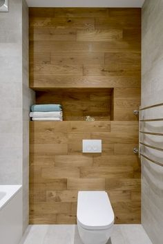 How to Create Bathroom that Fit Best Toilet Closet - Guest bathroom - Bathroom Design Small, Bathroom Interior Design, Modern Bathroom, Downstairs Toilet, Basement Bathroom, Bathroom Closet, Bad Inspiration, Bathroom Inspiration, Bathroom Ideas