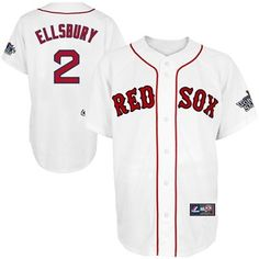 bf2f84025 Majestic Jacoby Ellsbury Boston Red Sox 2013 MLB World Series Bound Youth  Replica Player Jersey - White