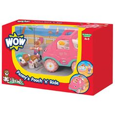 WOW Toys Penny's Pooch 'n' Ride
