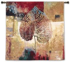 Abstract Autumn Wall Tapestry by Dougall at Art.com