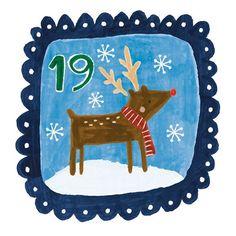 """Day 19 ❄️ #art #artlicensing #advent #adventcalendar #christmas #crimbo #festive #christmascountdown #graphicdesign #holiday #illustrate #illustration…"""