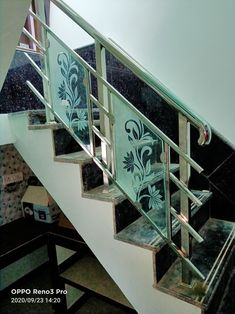 Staircase Glass Design, Steel Stairs Design, Balcony Glass Design, Steel Grill Design, Balcony Grill Design, Balcony Railing Design, Window Grill Design, Glass Stairs, Glass Railing