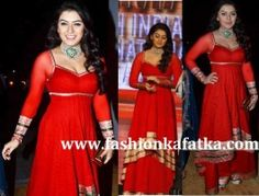 Are you scrappy for innovations in your dress style? You have a good chance with Hansika Motwani Style #Palazzo #Pants & Tunic, which was apparent first At SIIMA Awards