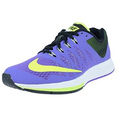 Nike Womens Zoom Elite 7 Hyper GrapeVoltBlack Running Shoe 95 Women US    You can find f57f32822