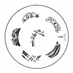 Konad Stamping Nail Art Image Plate - M80 by Konad. $5.18. Konad Stamping Nail Art Image Plate - M80