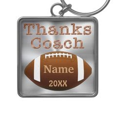 For your special coach get it Personalized Football Coach Keychains NAME, YEAR. Click Link; http://www.zazzle.com/personalized_football_coach_keychains_name_year-146207993516853491?rf=238012603407381242* View more Football gifts that can be Personalized and Customizable Football Gifts Zazzle Shop LINK: http://www.zazzle.com/littlelindapinda/gifts?cg=196532339247083789&rf=238012603407381242*
