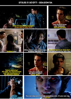 #TeenWolf #Season5a - Stiles and Scott