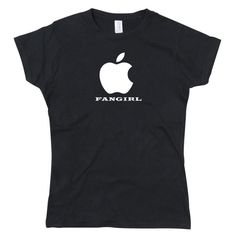 Celebrate your Apple love with this awesome homage All of our designs are professionally heat-pressed onto: Black Crew neck T-shirt 165 GSM Cotton