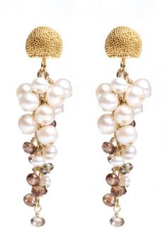 CHARME SILKINER  Asia Earrings 37% off - $95