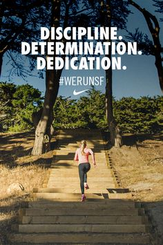 Discipline. Determination. Dedication. Build a base to get to the top. Set the tone for the rest of your half marathon training. #werunsf