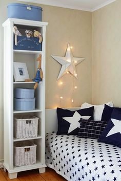 Stars in Kids' Rooms | Ceiling Star Lights | KidSpace Interiors