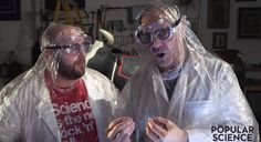 Alton Brown Builds One Cold Contraption To Whip Up A Gallon Of Carbonated Ice Cream In 10 Seconds -  Alton Brown Builds One Cold Contraption To Whip Up A Gallon Of Carbonated Ice Cream In 10 Seconds Alton duct tapes together a bunch of water cooler bottles to a couple of fire extinguishers  nearlyblowing himself up in the process  all for a taste of a sweet frozen treat. Fecha: October 11 2016 at 03:23PM via Digg: http://ift.tt/2dTr3dh - Sigueme en mi página de Facebook…