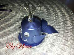 Balena fatta con capsule Nespresso