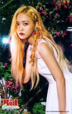 YERI - of RED VELVET.. she wore RED VEL...VET.   AMx