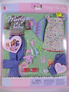 Barbie Doll 2003 Midge and Baby Happy Family Fashion | eBay