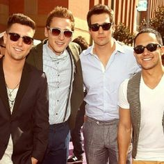 the definition of BTR: the best boy band EVER
