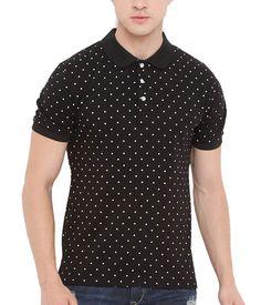 7f860ffb128 Genius18 Men s Cotton T-Shirt (Black