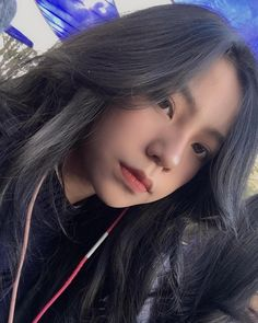 Lấy = Follow #Ẩn Cute Girls, Cool Girl, Girl Swag, Beautiful Asian Girls, Ulzzang Girl, Blue Hair, Pretty Face, Girl Photos, Korean Girl