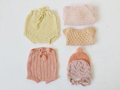 Baby knit, romper