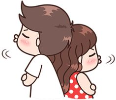 This love for you, send your love to your couple. Cute Chibi Couple, Love Cartoon Couple, Cute Couple Comics, Cute Love Cartoons, Cute Love Couple, Cute Comics, Cute Love Pictures, Cute Cartoon Pictures, Cute Love Gif