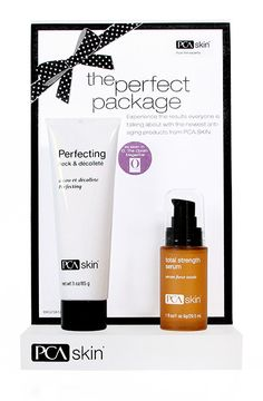 Perfecting Neck and Décolleté - correct - daily care - Products from PCA available at: dlaudatisalon.com