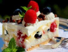 Cooking with Zoki: Krem torta / kolač Serbian Recipes, Serbian Food, Eclairs, No Bake Cake, Delicious Desserts, Cheesecake, Cooking Recipes, Pudding, Sweets