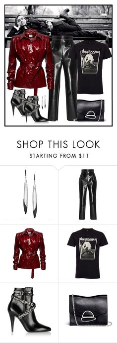 """""""Iggy Pop & The Stooges"""" by romaboots-1 ❤ liked on Polyvore featuring Lana, Philosophy di Lorenzo Serafini, Magda Butrym, Yves Saint Laurent and Proenza Schouler"""