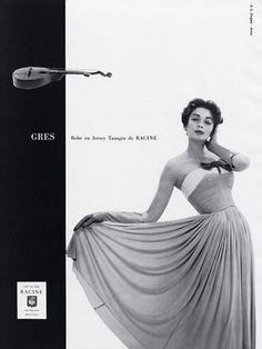 Grès 1957 Photo Guy Arsac, Summer Dress
