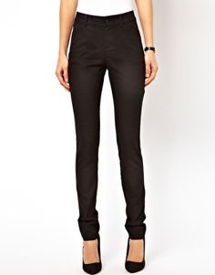 Enlarge ASOS Skinny Trousers in Cotton Twill