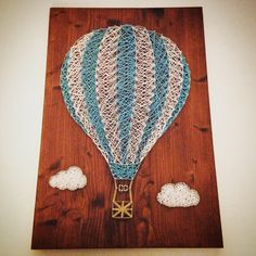 Balloon string art by Enyris on Etsy