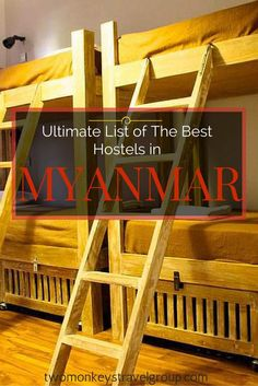 Providing you the ultimate list of the BEST HOSTELS IN MYANMAR – includes rates, locations and great reviews that will definitely help you with your stay anywhere in Mayanmar! In this article, you will find the following – Best hostels in Yangon; Best hos