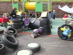 """Learning for Life: Fun with Compost Bins in the outdoor area ("""",)"""