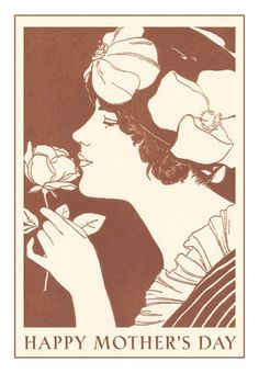 art deco mothers day