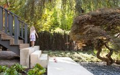 Landscaping of Vancouver renovation by Splyce Design.