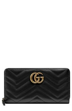 34d9974a14df GG Marmont continental wallet | ACCESSORIZE | Gucci wallet, Wallet, Real  leather wallet